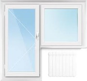 Продам б/у Киев пластиковые окна и балконные блоки
